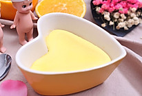 橙子蒸蛋羹 宝宝健康食谱的做法