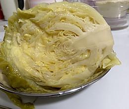 腌制东北酸菜~圆白菜的做法