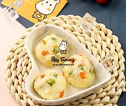 小米香饭团的做法