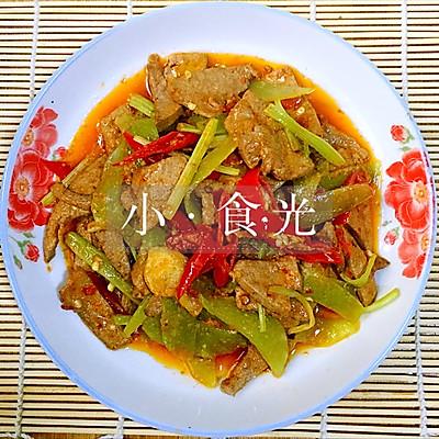 泡椒猪肝(特下饭,加了莴笋更好吃)