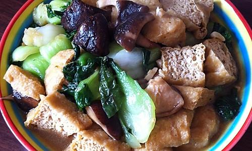 油豆腐烩菜的做法