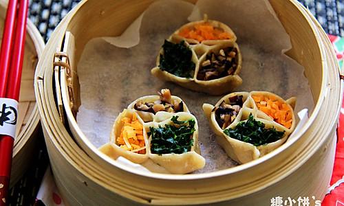 【三元蒸饺】的做法