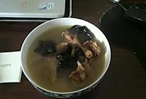 木耳山药鸽子汤的做法