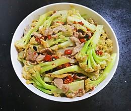 营养均衡:菜花炒肉的做法