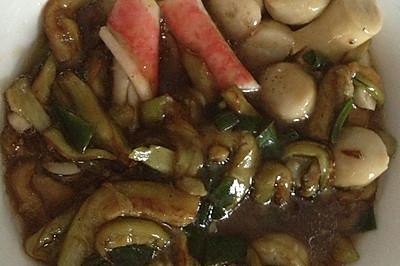 三鲜茄子煲