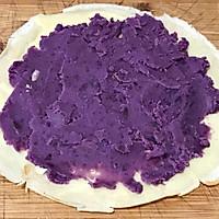 紫薯鸡蛋卷的做法图解8