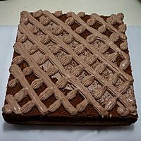 可可奶油果仁蛋糕#美的烤箱菜谱#的做法图解24