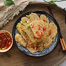 鸡肉莲藕豆腐卷