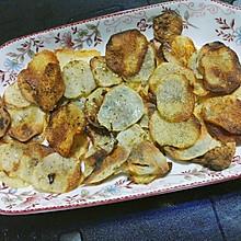 简单烤土豆片