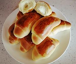 奶香小面包(无黄油少糖版)的做法