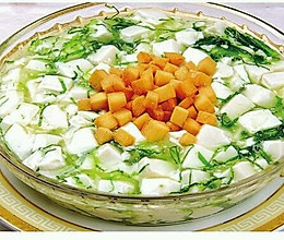 产后系列之三丁豆腐羹的做法