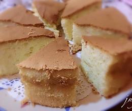 不裂不塌腰的戚风蛋糕(八寸)的做法