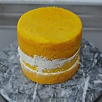 #马卡龙·奶油蛋糕看过来#暖色秋季—秋的收获—南瓜翻糖蛋糕的做法图解18
