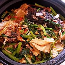 砂锅腐竹鱼头煲