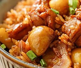 日食记 | 电饭煲板栗鸡腿焖饭的做法