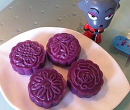 最健康的烹饪方法——紫薯饼(枣泥馅)的做法