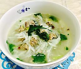 羊肉萝卜丝汤的做法