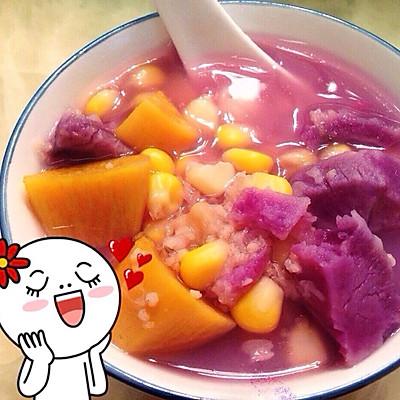 健康紫薯红薯五谷糖水