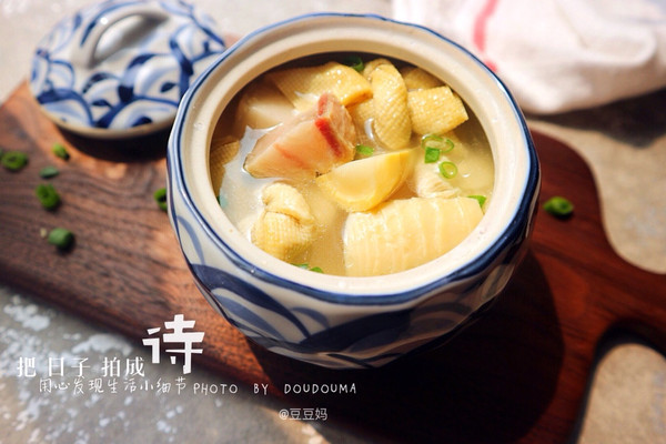 上海腌笃鲜#蔚爱边吃边旅行#的做法