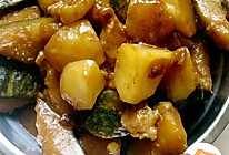 窝瓜炖土豆的做法