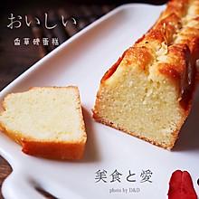 小嶋老师的香草磅蛋糕