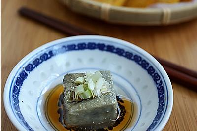 臭豆腐抹炸窝头