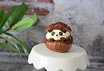 #硬核菜谱制作人# 熊猫酥皮泡芙的做法