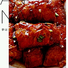【豆腐皮肉卷】