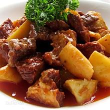 红烧土豆牛肉的烧法