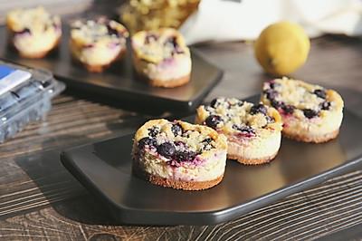 半熟芝士版蓝莓重芝士蛋糕