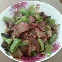 青椒腊肉的做法图解5