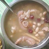 猪脚黄豆汤的做法图解3