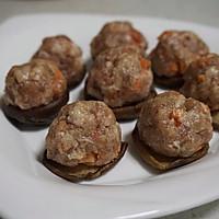 香菇酿肉丸#元气挑战美一天#的做法图解5