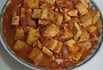 西红柿炖豆腐的做法
