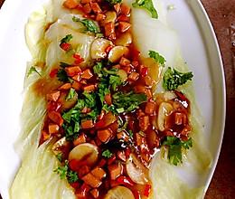 玉枕白菜的做法