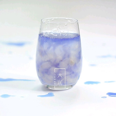 干了这杯蔚蓝,润肤养颜