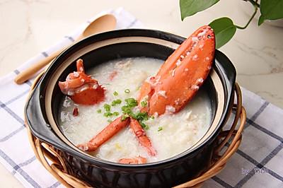 ·龙虾粥·鲜美养生粥 附详细的大龙虾分解方法