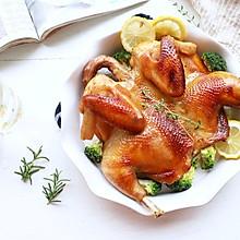 皮脆肉嫩的蜜汁脆皮烤鸡(空气炸锅版)