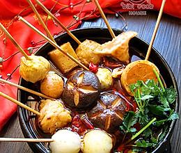 #家麻家辣#试吃之:石锅麻辣串串香的做法