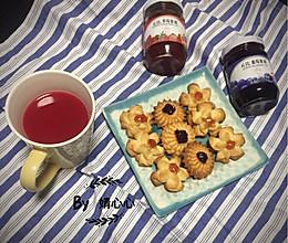 双莓芝士曲奇#丘比轻食厨艺大赛#的做法
