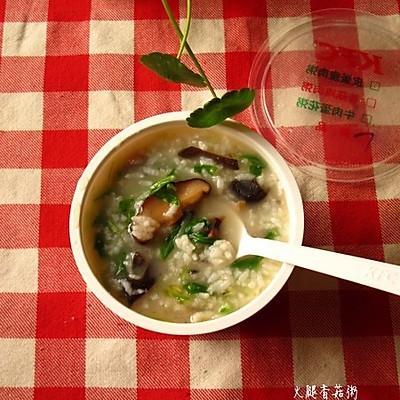 火腿香菇粥