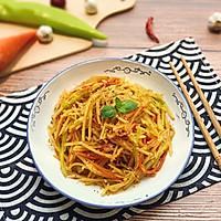 【超快手】麻辣拌三丝#花10分钟,做一道菜!#的做法图解12