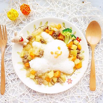 咖喱牛肉饭·辅食