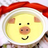 小猪鸡蛋羹-宝宝辅食