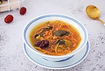 #网红美食我来做#虫草花乌鸡汤的做法