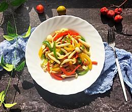#快手又营养,我家的冬日必备菜品#快手菜素炒白玉菇的做法