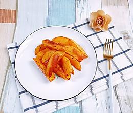 #豆果10周年生日快乐#香辣烤薯角的做法