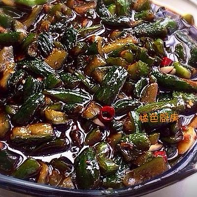 酱油黄瓜小咸菜