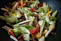 清炒火腿芹菜的做法