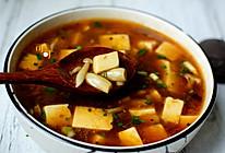 酸辣开胃豆腐羹的做法